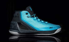Under Armour Curry 3 Light Blue Profile