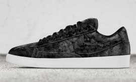Black Nike Blazer Low Velvet