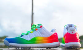Ray Allen Air Jordan 11 Rainbow Golf Shoes