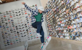 Eric Koston Sneaker Shopping