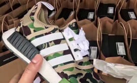 Bape x Adidas NMD Release