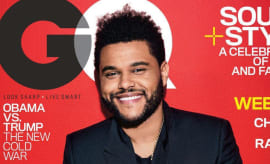 The Weeknd on GQ
