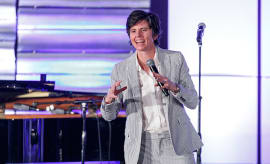 Comedian Tig Notaro performs onstage at the Family Equality Council's Impact Awards
