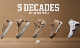 Nike Five Decades Pack