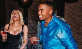 Nicki Minaj and Nas