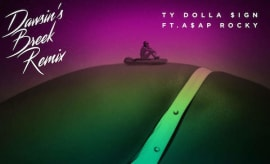 "Ty Dolla Sign ""Dawsin's Breek (Remix)"" f/ ASAP Rocky"