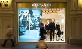 Versace store in Russia.