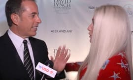 Jerry Seinfeld and Kesha