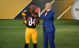 Antonio Brown Pittsburgh Steelers Pepsi Ad