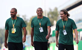 Pires, Trezeguet and Salgado