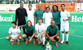 Champions League Legends vs F1 All-Stars