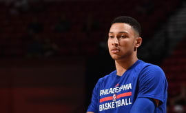 Ben Simmons in NBA Summer League