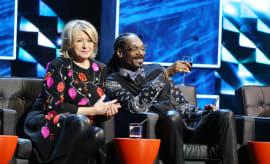 Martha Stewart and Snoop Dogg Pic