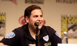Jonah Hill in 'Jump Street' uniform.
