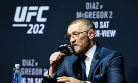 Conor McGregor at UFC 202 press conference