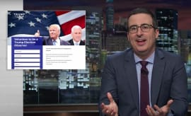 "John Oliver talks Trump's ""sarcasm"" on 'Last Week Tonight.'"