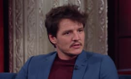 Pedro Pascal talks 'Narcos' on 'Late Show.'