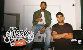 Usher Sneaker Shopping