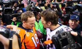 Tom Brady Pays Homage to Peyton Manning on Facebook