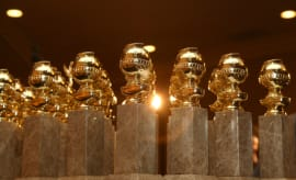 Golden Globes statues