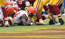 Isaiah Crowell Cleveland Browns Goal Line 2016