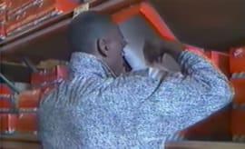 Michael Jordan Shops Nike in 1988