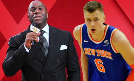 Porzingis Injured; Magic Johnson Giannis Tampering; John Wall Shade | Out of Bounds