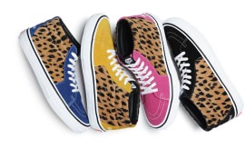 Vans Supreme Leopard Velvet Sk8-Mid