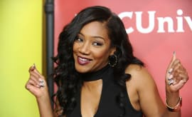 Tiffany Haddish at the 2017 NBCUniversal Summer Press Day