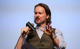 Director Matt Reeves speak onstage during Deadline's The Contenders