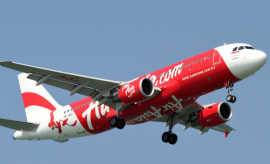 This is an AirAsia plane.