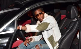 Young Thug in a car