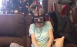 Grandmother VR roller coaster