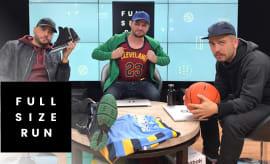 Full Size Run NBA Jerseys