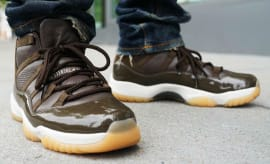 Anthony Hamilton Brown Air Jordan 11