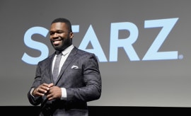 50 Cent at 'Power' season 3 premiere