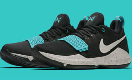Nike PG 1 Black Light Bone Light Aqua Release Date Main 878628-002