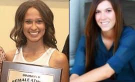 Haley Perea and Savannah Sugg