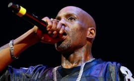 DMX performs during the Ruff Ryders and Friends Reunion Tour