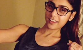 Who Wants to Buy Mia Khalifa Some Lacrosse Equipment?