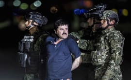 'El Chapo' is transported to Maximum Security Prison