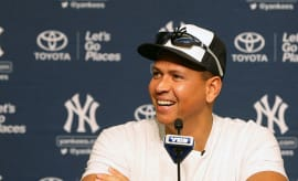 A-Rod press conference before last game.
