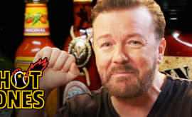 Ricky Gervais Hot Ones