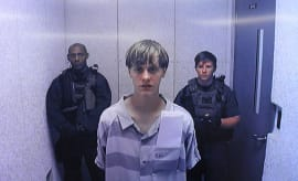 This is a photo of Dylann Roof.