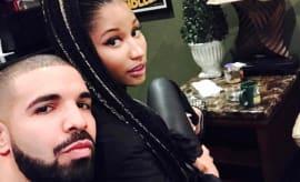 Drake promotes his album