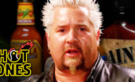Hot Ones Guy Fieri Thumb