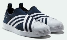 White Mountaineering x Adidas Superstar Slip-On Black Thumb