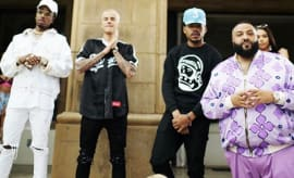 DJ Khaled with Bieber, Chance the Rapper, etc.