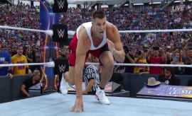 rob gronkowski at wrestlemania