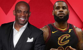 "LeBron Slams Playoff Play-In; Deion Sanders Calls All-Pro a ""Fan"" 
